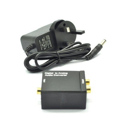 Desconocido ukdigitalbay Coax - Conversor de Audio Digital (Conector coaxial Toslink a...