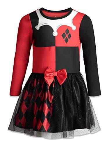Warner Bros. Harley Quinn Toddler Girls' Costume Dress, 3T
