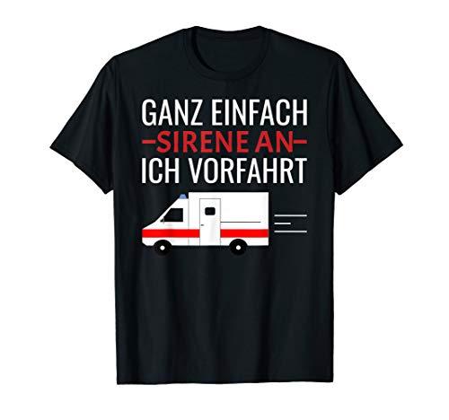Sanitäter Rettungssanitäter Sanitäterin Geschenk Lustig T-Shirt
