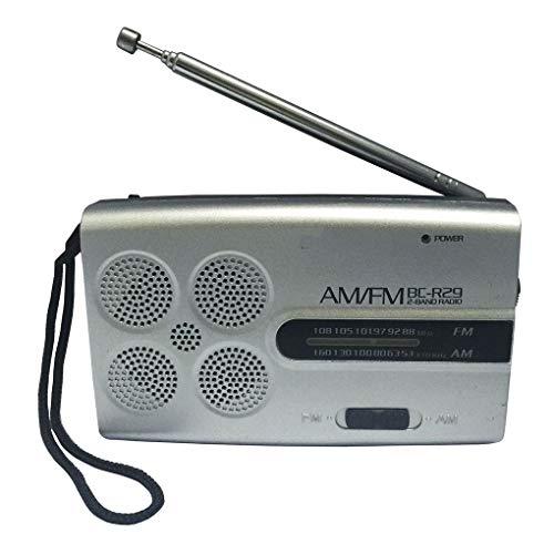 teng hong hui BC-R29 Pocket Portable Radio AM FM Pocket radio receiver AM...