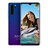 Blackview A80 Pro (2020) Unlocked Smartphones, 6.49' HD+ Waterdrop Screen, 8MP Front Camera + 13MP Quad Rear Camera, Android 9.0 Octa-Core 4GB + 64GB, 4680mAh Battery Dual Global Band 4G Cell Phones