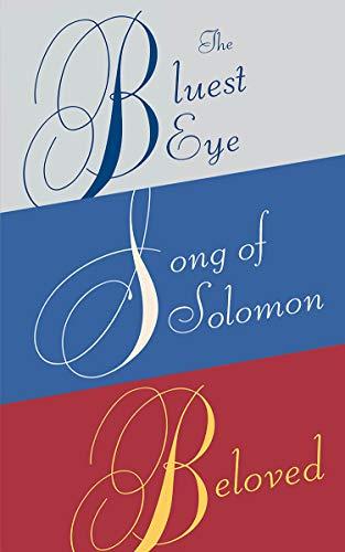 Toni Morrison Box Set: The Bluest Eye, Song of Solomon, Beloved (English Edition)