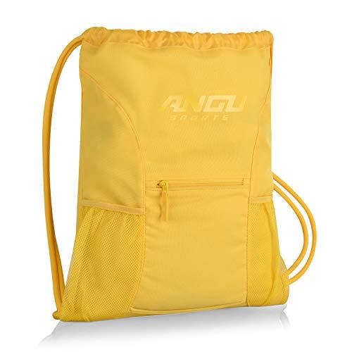 Drawstring Bag For Kids, Women and Men. Soccer Bag For Sports
