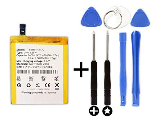 Bateria para BQ Aquaris M4.5 + Kit Herramientas/Tools | 2470mAh