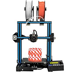 【1】Mix-color printing: Dual extruder module and 2-in-1-out hotend which deliver 4 types of printings, namely, single color, dual color, graded color and mixed color. A10M will greatly enrich your 3D printing life 【2】Fast Self-assembly: Just takes abo...