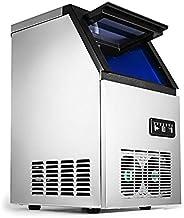 SucceBuy 220V 68KG Machine A Glaçons Acier Inoxydable Machine A Glace Portable et Rapide (68KG)