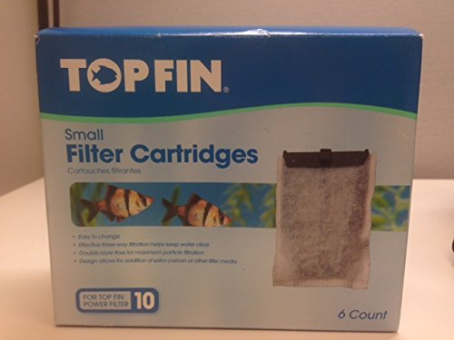 TOP FIN Small Filter Cartridges (6 Count)
