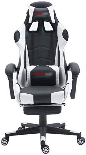 BeingHD Qualitätsbürostuhl, Bürostuhl mit Armlehne E-Sports Chair PU-Leder mit hoher Rückenlehnenstuhl Bürostuhl Computer Gaming-Tische und -stühle