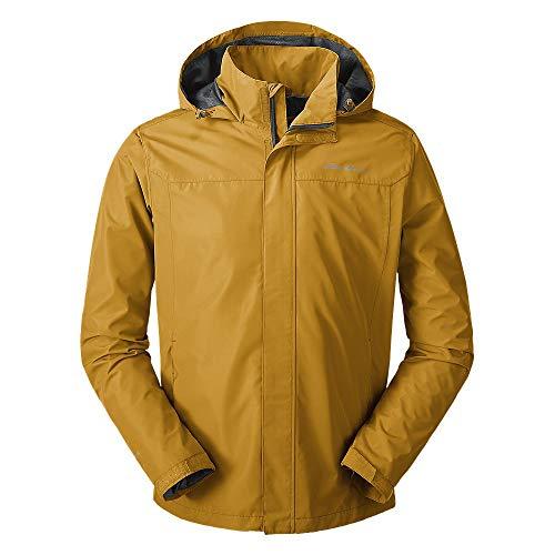 Eddie Bauer Men's Rainfoil Packable Jacket, Dk Loden Regular S