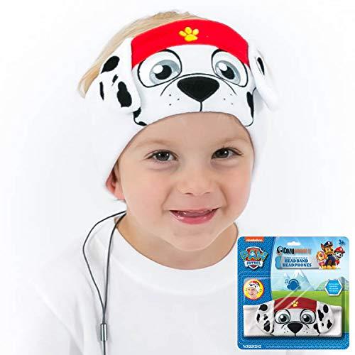 41wrjl0uVdL - Kids Headphones, Volume Limiting with Ultra Thin Adjustable Speakers Soft Children Fleece Headband Toddler Headphones for Home and Travel - Monster