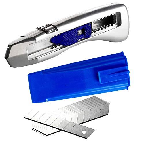 Delphin® 2004 Abbrechklingen-Messer inkl. Köcher blau +10 Klingen