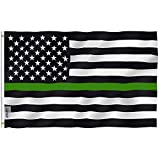 ✔ FLY BREEZE SERIES - This flag is ideal for low-wind area. The lightweight design allows the flag to fly in mild breeze. (NOT Recommended for Super Windy Outdoors) ✔ FADE PROOF - You will immediately notice how amazing the print is. The color is ver...