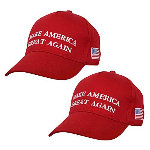Trumpf Hut, Donald Trump Baseball Cap, Einstellbar Unisex Baseball Kappen, Make America Great Again Baseball Mütze, für Herren Damen Sport Hip Hop Party Kostüm