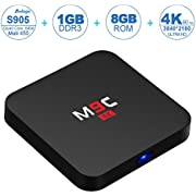 NinkBox M9C Android 5.1 TV Box Amlogic S905 Quad Core 4K Output 1G/8G Flash Smart Tv Player Wifi Streaming Media Players