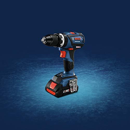 Bosch GSB18V-535CB15-RT 18V Lithium-Ion Brushless 1/2 in. Cordless Hammer Drill Driver Kit (4 Ah) (Renewed)