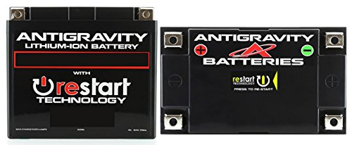 Antigravity AT12-BS-RS Lithium RE-START Battery, Replace YT12-BS, YT14-BS, other