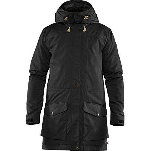 Fjallraven Herren Sport Singi Wool Padded Parka M, Black, L, 81919