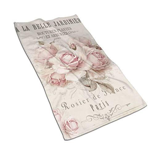 WH-CLA Mikrofaser Handtuch,Blumen Penis Regenbogen Handtücher Saugfähig Reisetuch Unisex Strandlaken,40x70cm