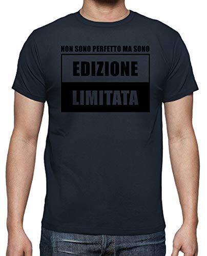 latostadora - Camiseta Edicion Limitada para Hombre Azul Marino 4XL