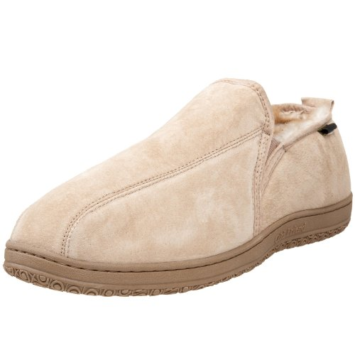 Old Friend Men's Romeo Slipper, Chestnut Stony, 13 5E US
