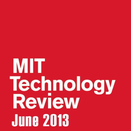 Audible Technology Review, June 2013 audiobook cover art