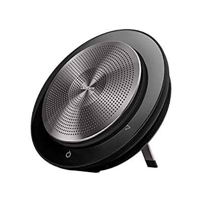 Jabra Speak 750 Speaker Phone - Microsoft Teams Certified Portable Conference Speaker with Bluetooth Adapter and USB - Connect with Laptops, Smartphones and Tablets by Jabra