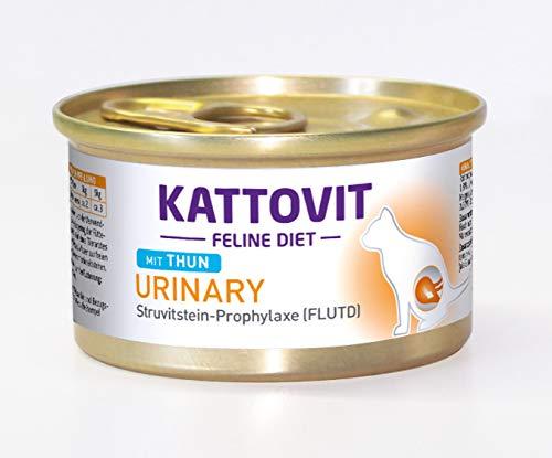 Kattovit kattenvoer urinaire Thunvis 85 g, verpakking van 24 (24 x 85 g)