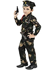 Chandrika Army Costume Dress for Kids (5-6 Years)