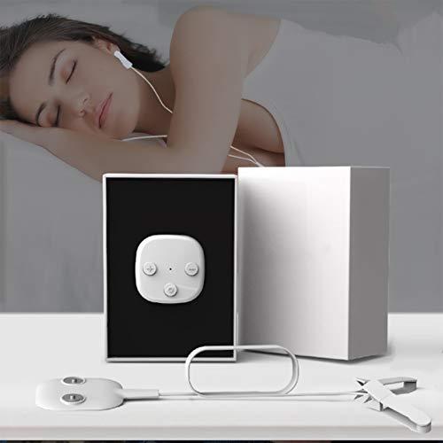 fall Sleep Aid Gerät, CES Insomnia Therapiegerät Schlaf-Assist, sichere Befreiung von Angst, Depression, Schlaflosigkeit & Pain