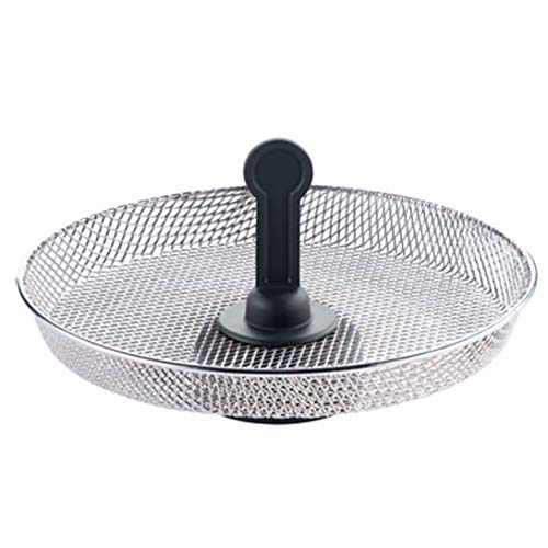 An image of the SPARES2GO Fryer Chip Tray Snacking Grid Basket compatible with Tefal FZ70, AL80, GH80 Series Actifry 1kg 1.2kg Air Fryer