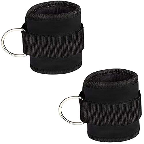 Comfortable Adjustable Padded Ankle Wrist Cuffs Neoprene Padded Straps...