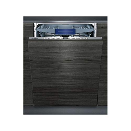 Siemens iQ300 SX636D00ME Totalmente integrado 14cubiertos A++ lavavajilla - Lavavajillas (Totalmente integrado, Tamaño completo (60 cm), Plata, Botones, 1,75 m, 1,65 m)
