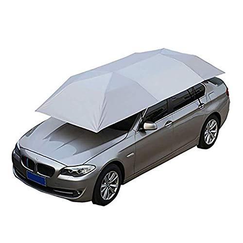 LMHX Dachzelt Autodachzelt Universal Fahrzeugzelt Carport Faltete Halbautomatische Auto-Überdachungs-Abdeckung Schutz-windundurchlässigen Regenschirm