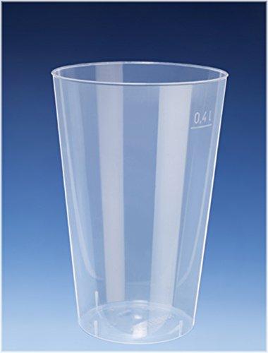 EVENTpac 100x 400ml Cocktail Becher/Trinkbecher aus PP/nahezu unkaputtbar/alt. Zu Mehrweg/Mehrwegbecher - Exklusives Angebot der Marke
