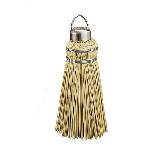 HIC Amish Broom Cake Tester, 100-Percent All Natural Corn Husk, Made in America, 6-Inches Tall