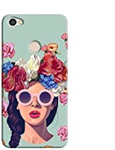 Cover It Up Flower Head Hard Case For Xiaomi Redmi Note 5A - Multi Color
