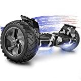 FUNDOT Hoverboards,Hoverboards All terrain,Self Balancing Scooter 8.5',Off-Road Hoverboards,Hoverboards with Bluetooth Speaker,LED lights,Powerful Motor,Gift for Children Adults
