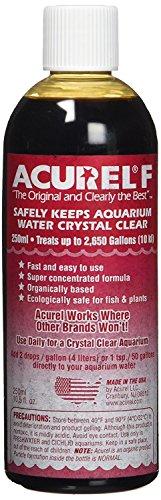 Acurel F250 Water Clarifier, Aquarium, Treats up to 2,650 gallons, 10.5 fl oz