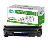 InkJello - Cartucho de tóner Compatible para HP Laserjet Pro M1132 MFP M1212nf M1214nfh...