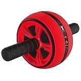 KJHD Rodillo de la Rueda Grande del músculo Abdominal Entrenador de Fitness Abs Entrenamiento Core músculos Abdominales Entrenamiento Gimnasio en casa aparatos de Ejercicios