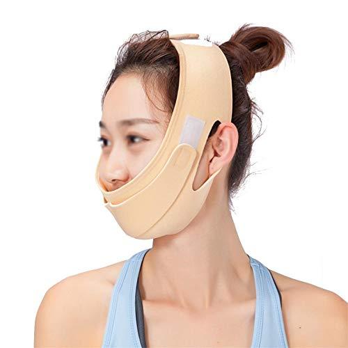 Visage V Shaper Visage Minceur Bandage, Relaxation Lift Up Forme Ceinture De Levage Réduire Double Menton Visage Thining Band Massage,02
