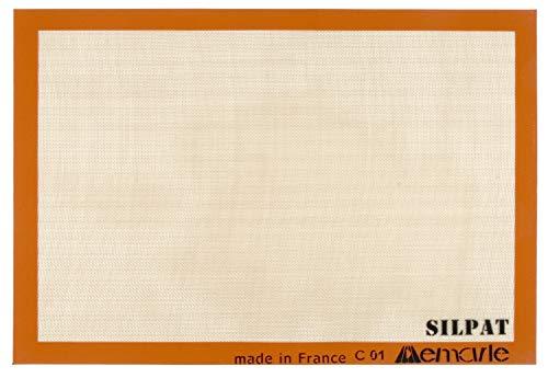 Silpat AE620420-01 Premium Non-Stick Silicone Baking Mat, Full Size, 16-1/2