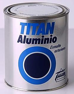 Titan 006000334 Bote Pintura Exteriores, Gris, 750 ml