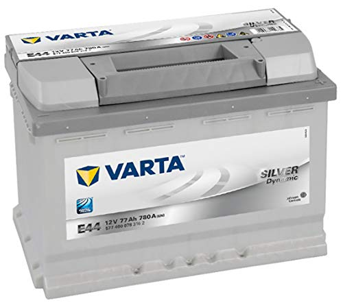 BATTERIA VARTA SILVER DYNAMIC E44 77AH 780A L3