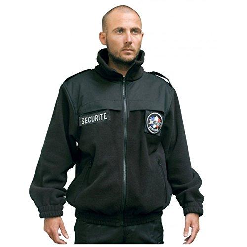 Blouson Polaire SECURITE Noir - Patrol