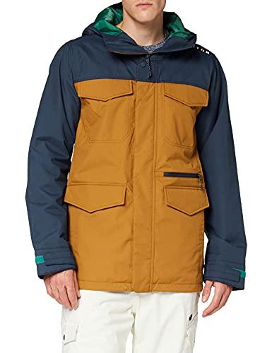 Burton Covert, Giacca da Snowboard Uomo, Dress Blue/True Penny, S