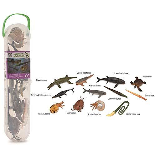 Collecta - Tubo de mamíferos prehistóricos minis, Box Mini (A1100)