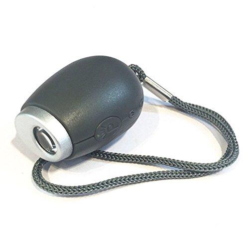 MOOUK Projektionsuhr, Mini-LED-Taschenlampe, Projektor-Taschenlampe für LED-Wand mit Umhängeband für Deckenprojektion, Schlafzimmer, Reisen, Camping (schwarz)