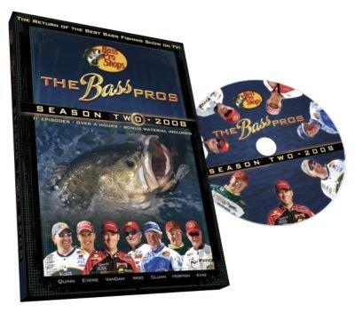 The Bass Pros - Season 2 - 2008'' Fishing Video - DVD