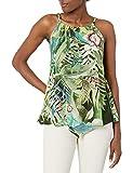 Desigual BLUS_HAMAICA, Verde, XL para Mujer